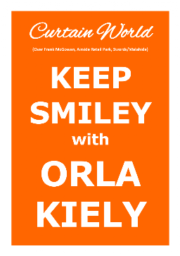 Keep Smiley with Orla Kiely