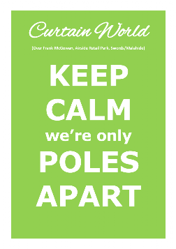 Keep Calm we're only Poles Apart