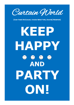 Keep Happy & Party On