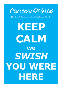 Keep Calm we SWISH YOU WERE HERE