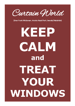 Keep Calm and Treat YOur Windows