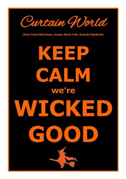 Keep Calm we're Wicked Good